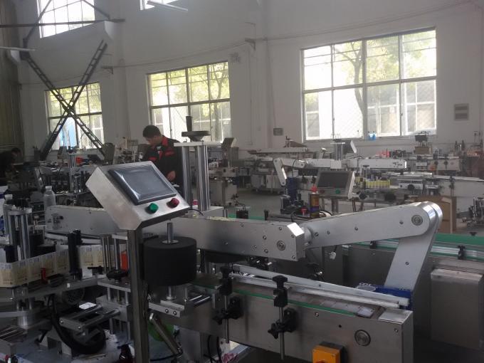 350ml mesin abel stiker perekat diri kanggo 1.5KW vial bunder