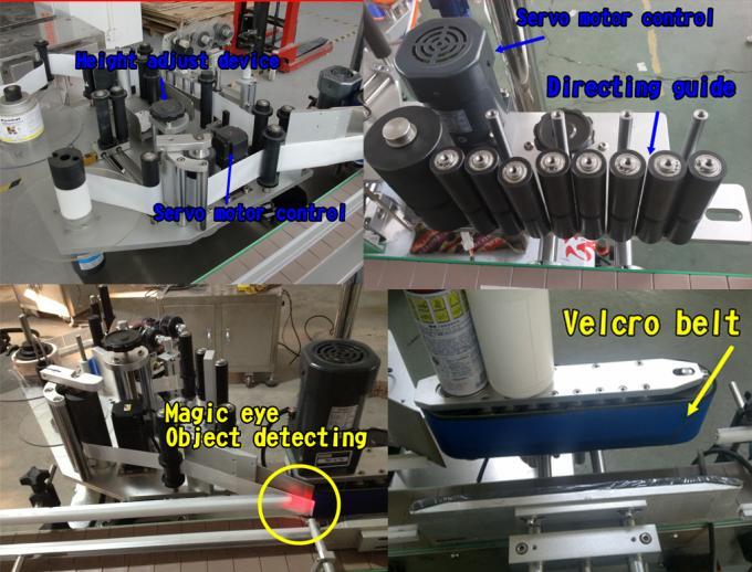 mesin aplikator label kanthi label sertifikat CE botol label botol siemens PLC otomatis