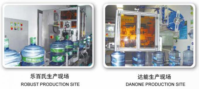 PET Label Stainless Steel Shrink Labeling Machine Kanggo Macem Botol CE