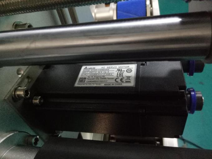 Mesin Labeling Stiker Botol Square SUS304 Loro Sisi Kanthi Produk Perawatan Pribadi