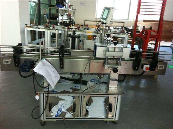 Mesin Label Adhesive Otomatis Kanggo Labeler Botol Babak