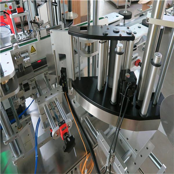 Mesin Label Botol Sampel Kosmetik Sampo 30-100 mm Panjang Wadah