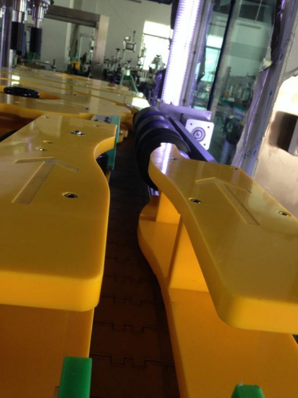 Mesin Label Botol Anggur / Bir Produksi Dhuwur, Labeler Botol Babak