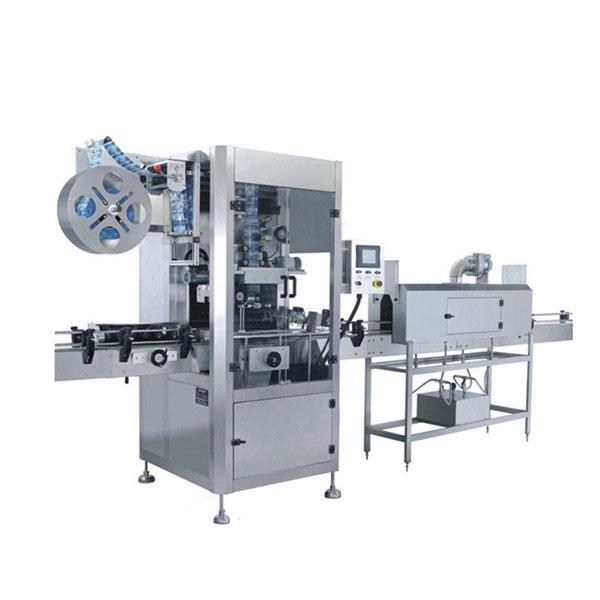 5,5 KW Cangkir Nyusut Labeling Machine