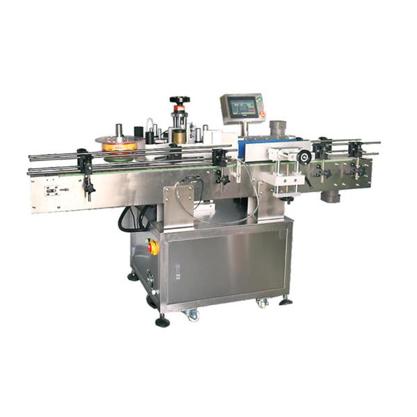 Mesin Label Anggur Servo Motor Otomatis