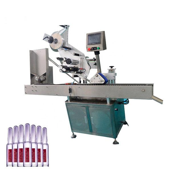 Mesin Labeling Vial Kosmetik Otomatis Otomotif Kontrol Cerdas