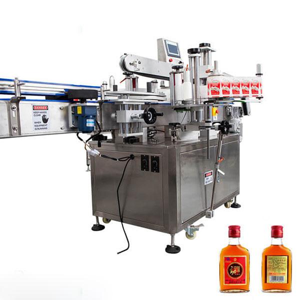 Mesin Label Kanggo Cangkir Lan Botol Babak Tongkat Otomatis