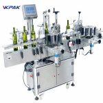 Multiple - Mesin Label Botol Putaran Tujuan Kanggo Kontrol PLC Anggur Abang