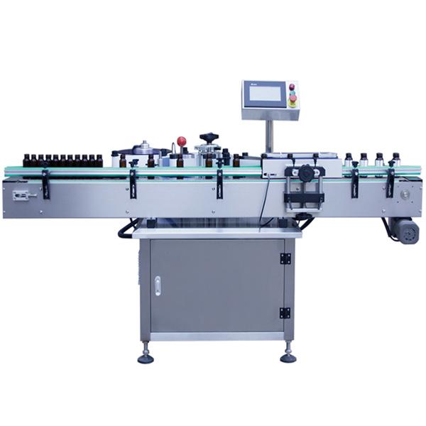 Mesin Labeling Otomatis Kontrol PLC