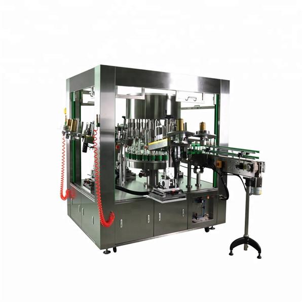 Labeler Rotary Botol Babak Kanthi Sistem Mesin Labeling Piring Rotasi