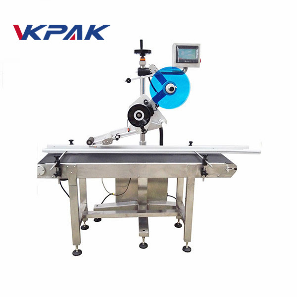 Servo Motor Labeling Adhesive Labeling Machine Machine Sheet Label Applicator Mesin
