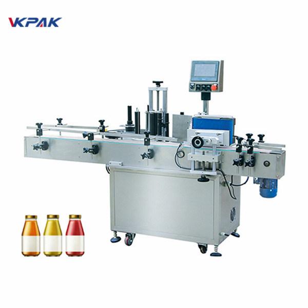 Botol Anggur Siji Sisih Botol Otomatis Labeling Machine