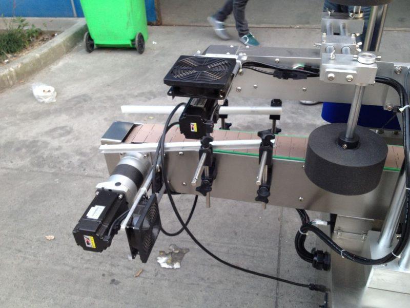 China Cold / Wet Melt Glue Label Applicator Machine For Round Bottle 50HZ 380V Power Supply supplier
