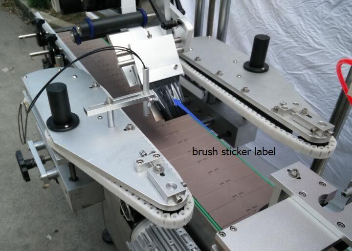 Mesin Label Stiker Botol Otomatis Kanggo Motor Botol Botol Bir