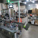 Otomatis Labeling Machine Aplikator Label Lumahing Flat