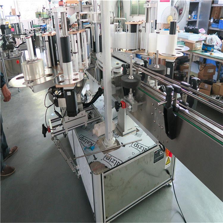 China Plastik Buket Single Labeling Machine, Kacepetan Loro, pemasok