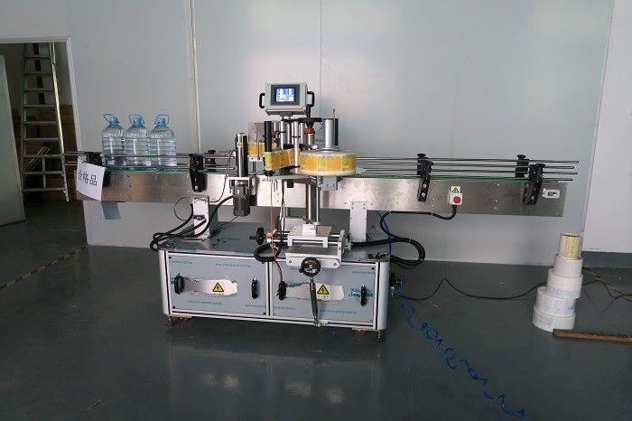 China 5L Ngombe Water Stiker Botol Stiker Labeling Machine, pemasok Mesin Label Lengket Diri