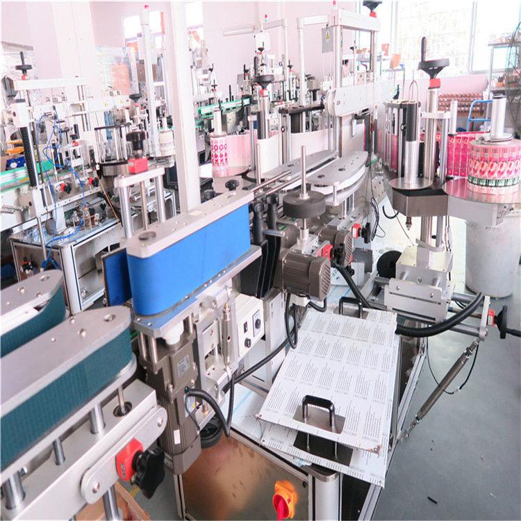 Mesin Label Sisih Botol Kanggo Botol Jar Botol Persegi Datar