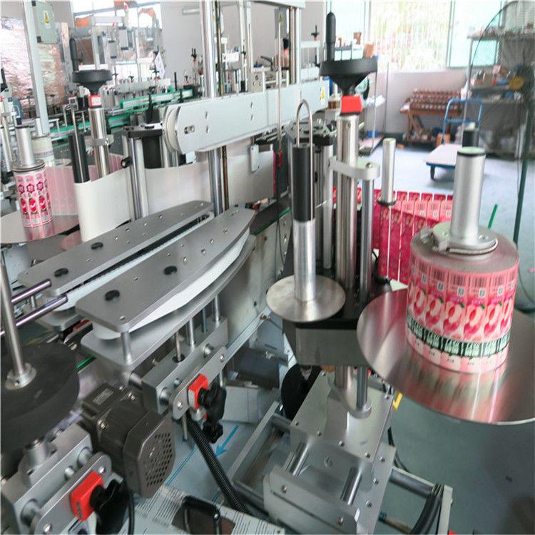 Mesin Labeling Stiker Otomatis Punggung Ngarep Adhesive 330mm Max Diameter Luar
