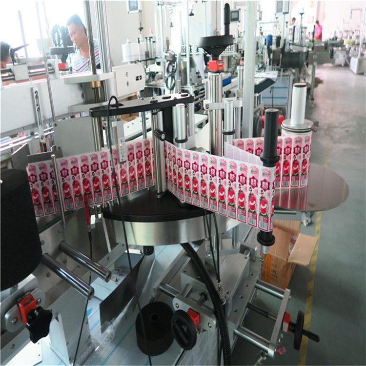 Mesin Label Stiker Otomatis Transparan Multifungsi