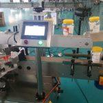 Botol Otomatis Babak Botol Otomatis Labeling Mesin Kanggo Botol Bir