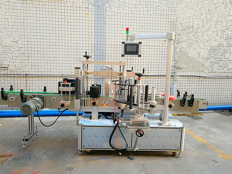 Mesin Labeling ngarep lan mburi otomatis sing gampang kanthi sisih pindho