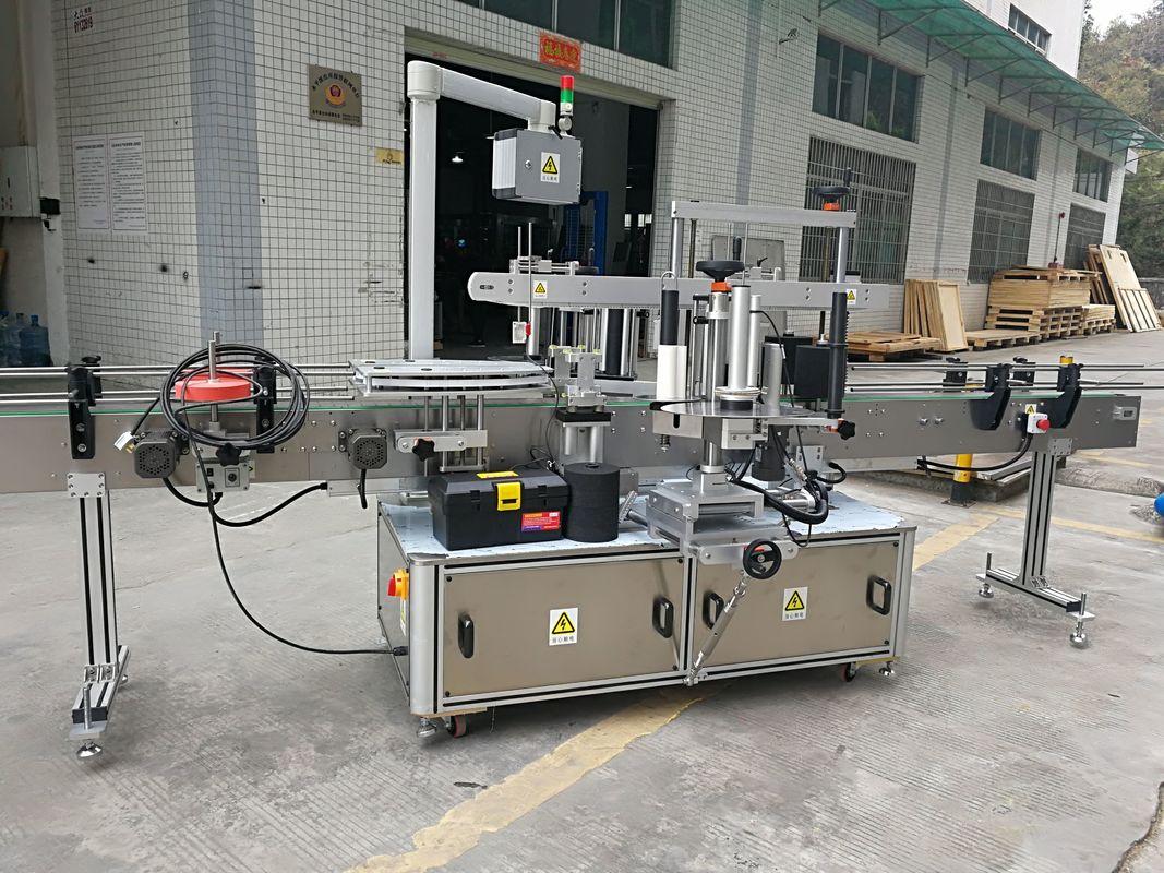 Mesin Labeling Stiker Corner Sealing Otomatis Lengkap 220V 50HZ 1200W